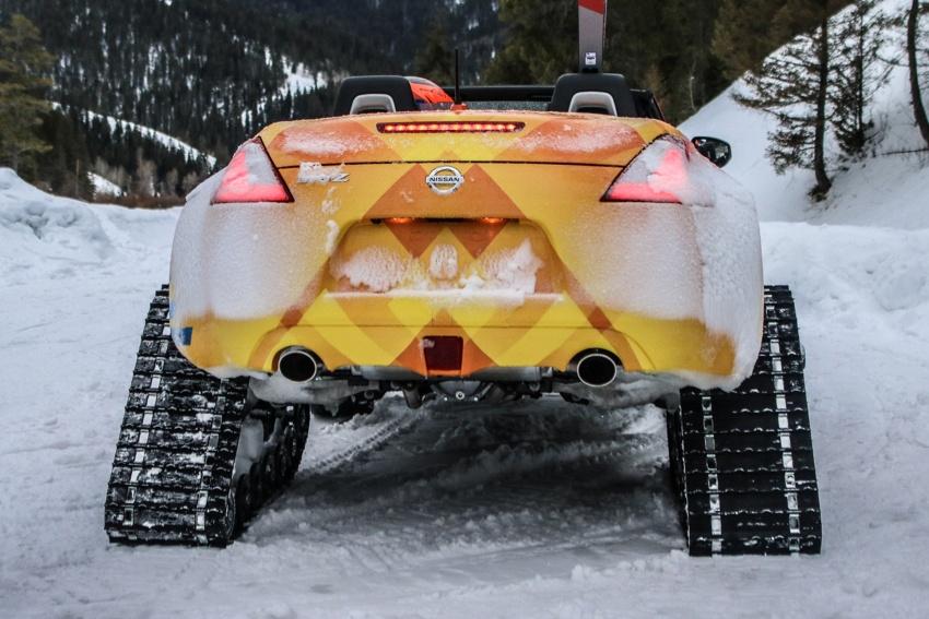 Nissan 370Zki – 332 hp RWD untuk dibelasah atas salji Image #775017