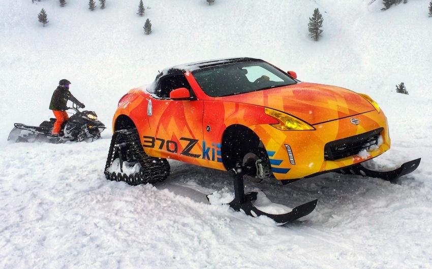 Nissan 370Zki – 332 hp RWD untuk dibelasah atas salji Image #775018