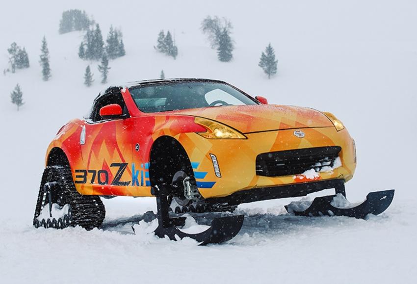 Nissan 370Zki – 332 hp RWD untuk dibelasah atas salji Image #775019