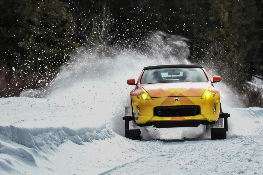 Nissan 370Zki – 332 hp RWD untuk dibelasah atas salji Image #775020