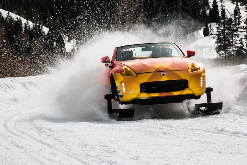 Nissan 370Zki – 332 hp RWD untuk dibelasah atas salji Image #775021