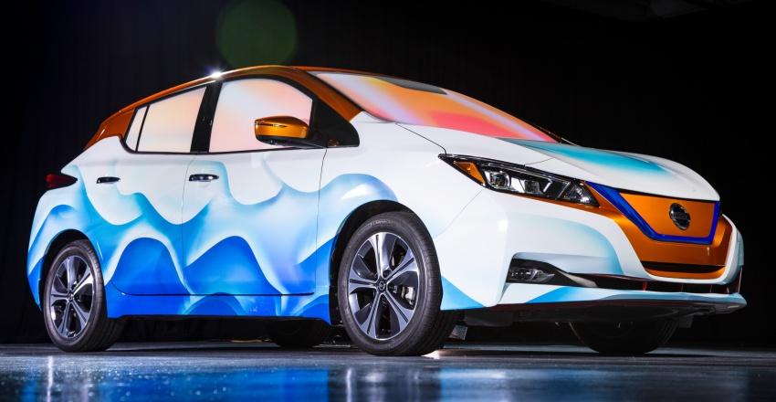 Nissan Leaf modifikasi khas inspirasi filem Disney Image #783789