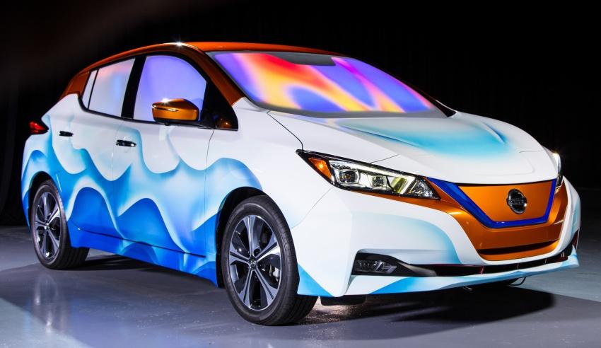Nissan Leaf modifikasi khas inspirasi filem Disney Image #783790