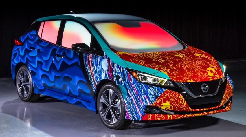 Nissan Leaf modifikasi khas inspirasi filem Disney Image #783794