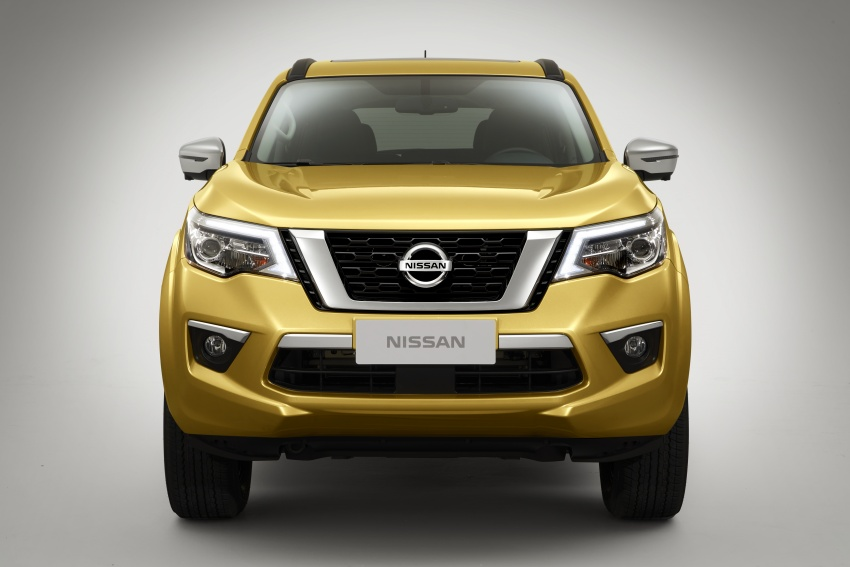 Nissan Terra – gambar rasmi pertama SUV <em>ladder frame</em> tujuh tempat duduk disiar, guna asas Navara Image #783114