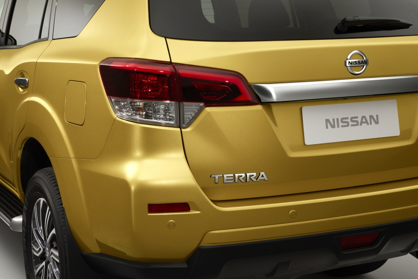 Nissan Terra – first photos of seven-seat SUV revealed Image #783072
