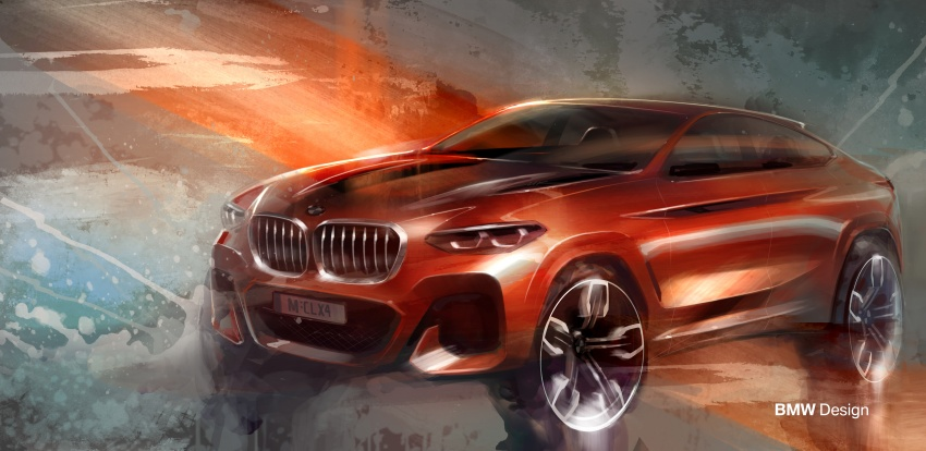 G02 BMW X4 unveiled with M40i and M40d variants Image #779177