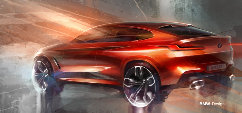 G02 BMW X4 unveiled with M40i and M40d variants Image #779178