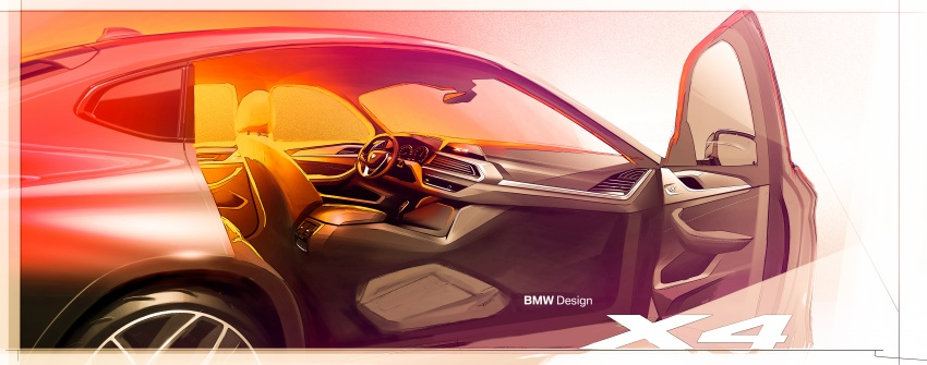 G02 BMW X4 unveiled with M40i and M40d variants Image #779183