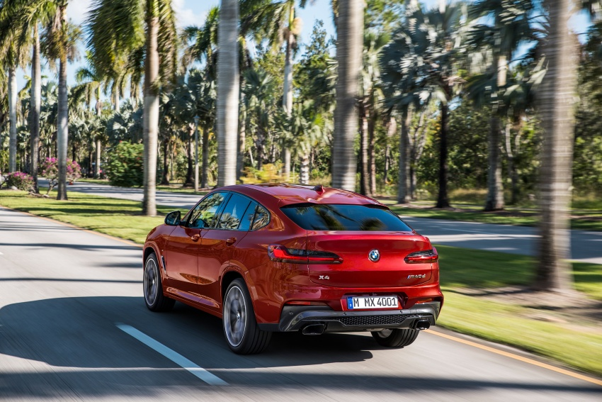 G02 BMW X4 unveiled with M40i and M40d variants Image #779195