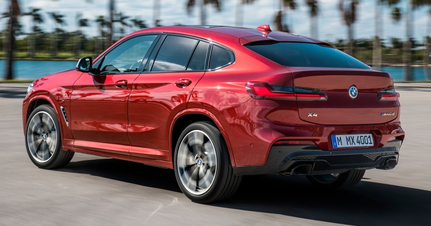 G02 BMW X4 unveiled with M40i and M40d variants Image #779199