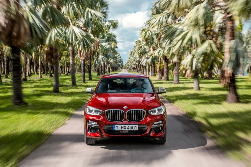 G02 BMW X4 unveiled with M40i and M40d variants Image #779207