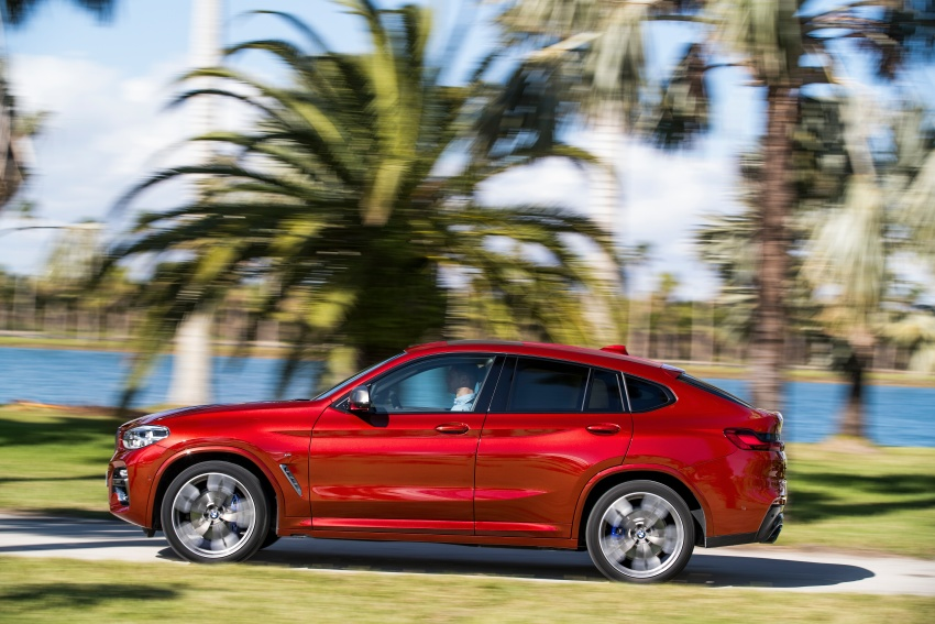G02 BMW X4 unveiled with M40i and M40d variants Image #779208