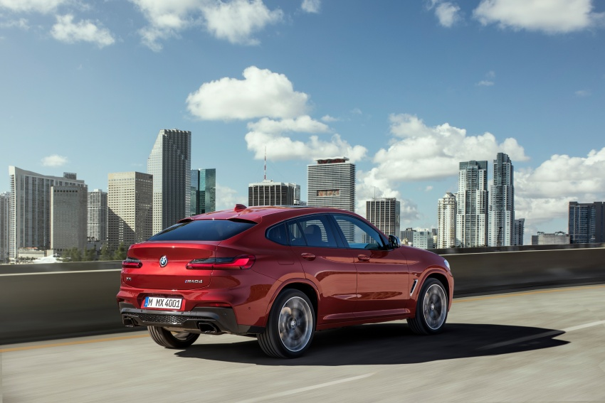 G02 BMW X4 unveiled with M40i and M40d variants Image #779211