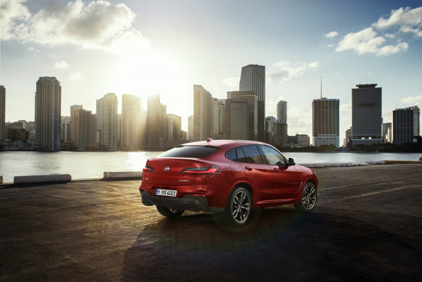 G02 BMW X4 unveiled with M40i and M40d variants Image #779214