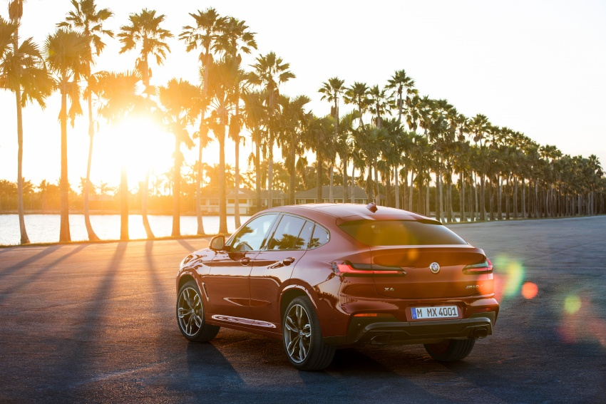 G02 BMW X4 unveiled with M40i and M40d variants Image #779215
