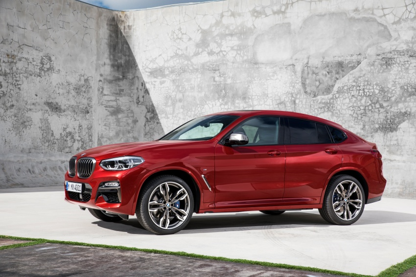 G02 BMW X4 unveiled with M40i and M40d variants Image #779217