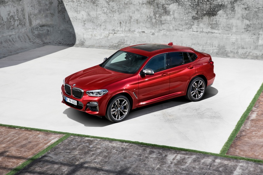 G02 BMW X4 unveiled with M40i and M40d variants Image #779219