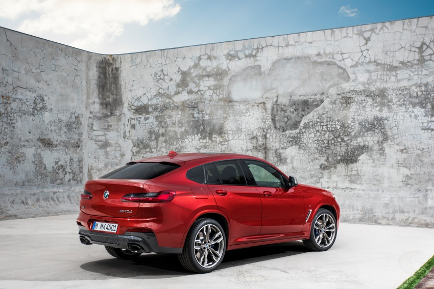 G02 BMW X4 unveiled with M40i and M40d variants Image #779221