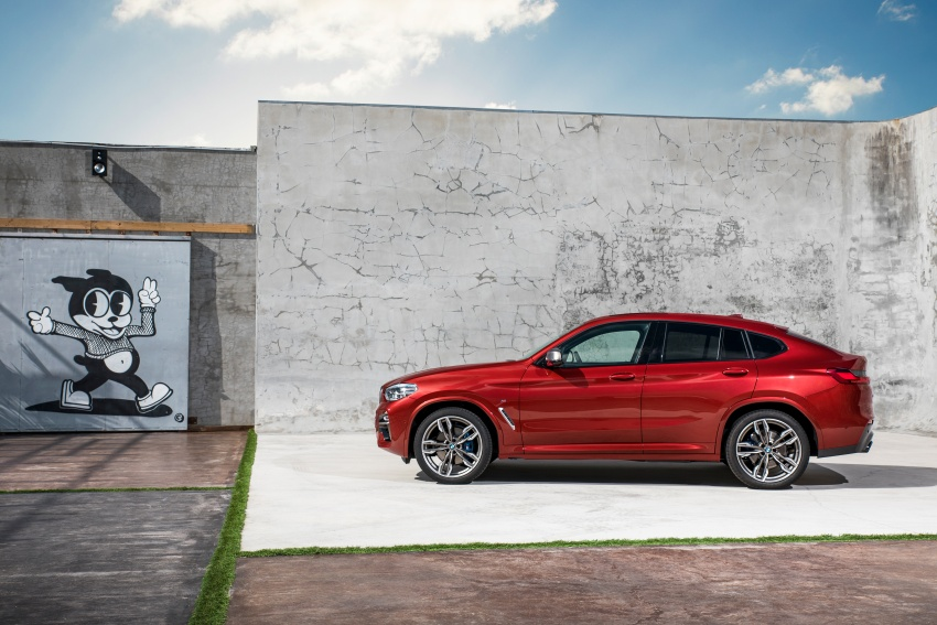 G02 BMW X4 unveiled with M40i and M40d variants Image #779223