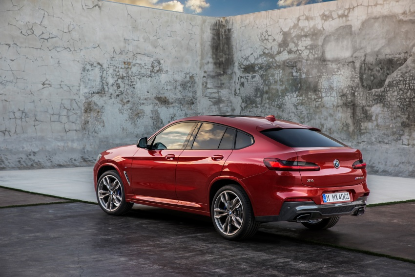 G02 BMW X4 unveiled with M40i and M40d variants Image #779226
