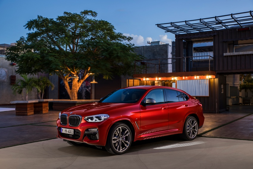 G02 BMW X4 unveiled with M40i and M40d variants Image #779234