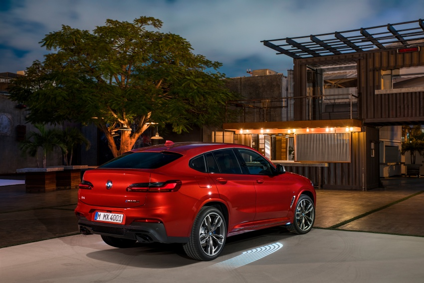 G02 BMW X4 unveiled with M40i and M40d variants Image #779236
