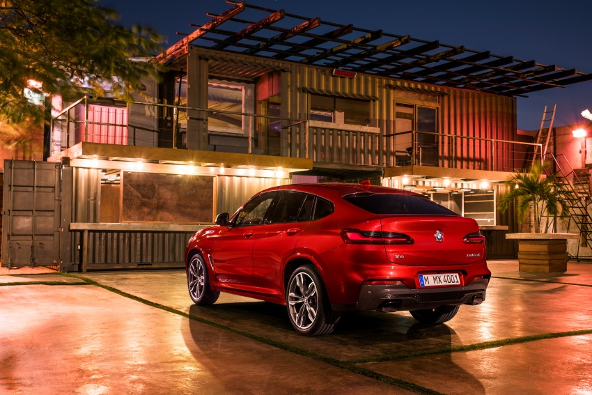 G02 BMW X4 unveiled with M40i and M40d variants Image #779240