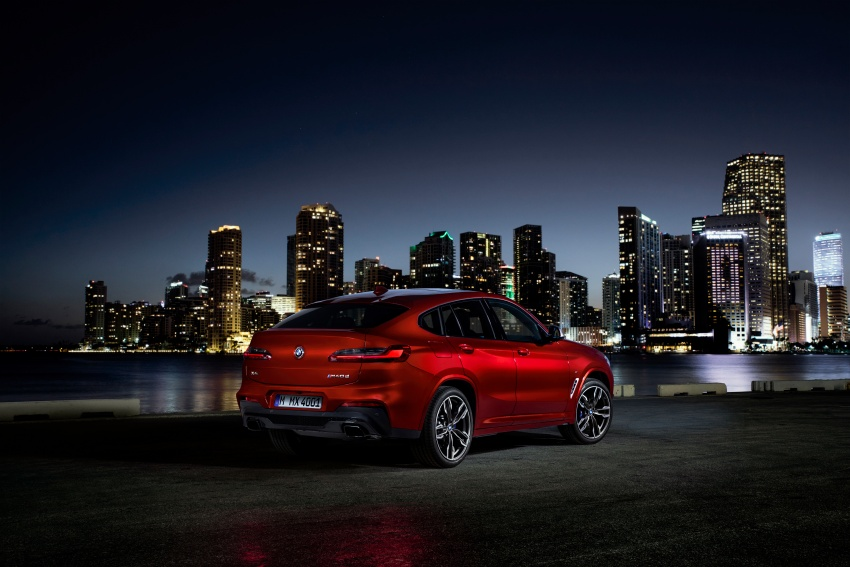 G02 BMW X4 unveiled with M40i and M40d variants Image #779241