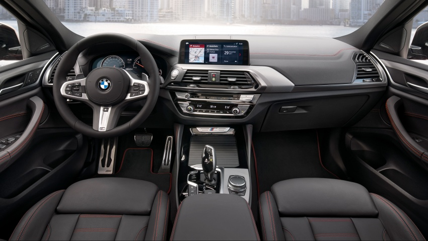 G02 BMW X4 unveiled with M40i and M40d variants Image #779246