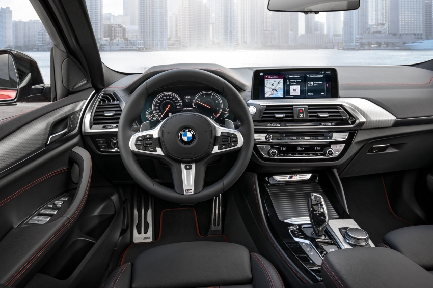 G02 BMW X4 unveiled with M40i and M40d variants Image #779247