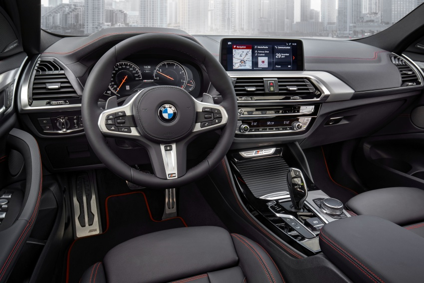 G02 BMW X4 unveiled with M40i and M40d variants Image #779248