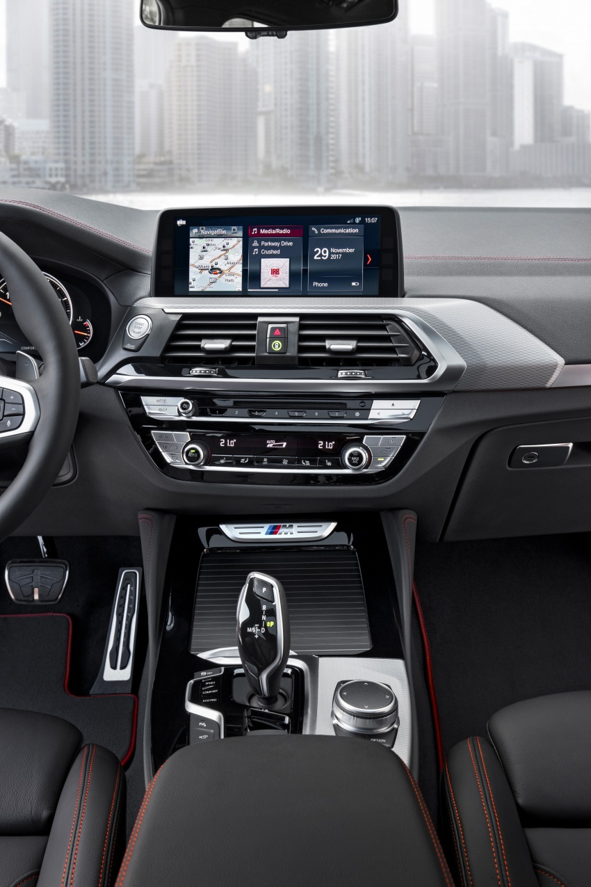 G02 BMW X4 unveiled with M40i and M40d variants Image #779249