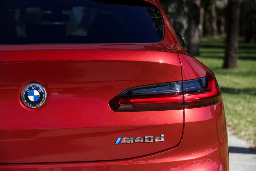 G02 BMW X4 unveiled with M40i and M40d variants Image #779254