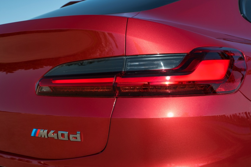 G02 BMW X4 unveiled with M40i and M40d variants Image #779255