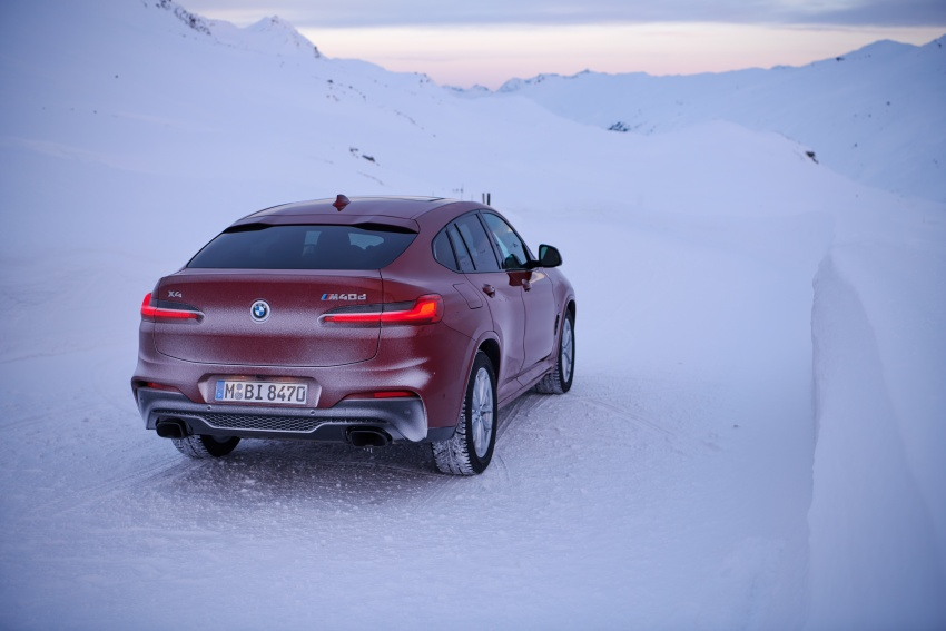 G02 BMW X4 unveiled with M40i and M40d variants Image #785694