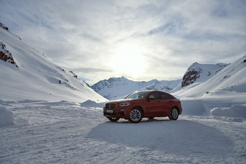 G02 BMW X4 unveiled with M40i and M40d variants Image #785688