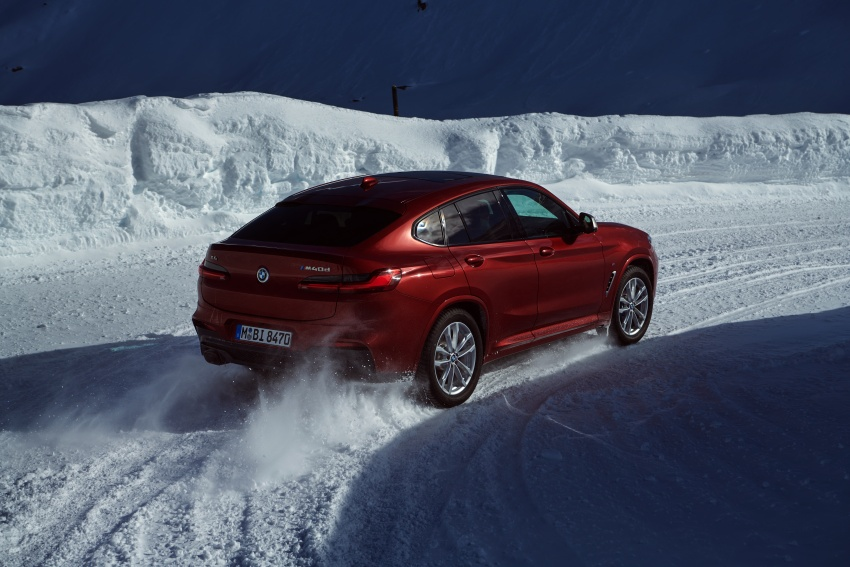 G02 BMW X4 unveiled with M40i and M40d variants Image #785693
