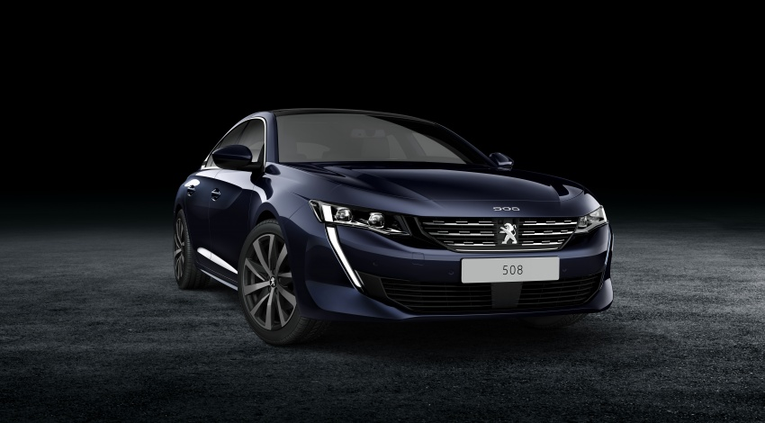 New Peugeot 508 officially revealed – now smaller and with a tailgate, targets Audi A5 Sportback Image #781747