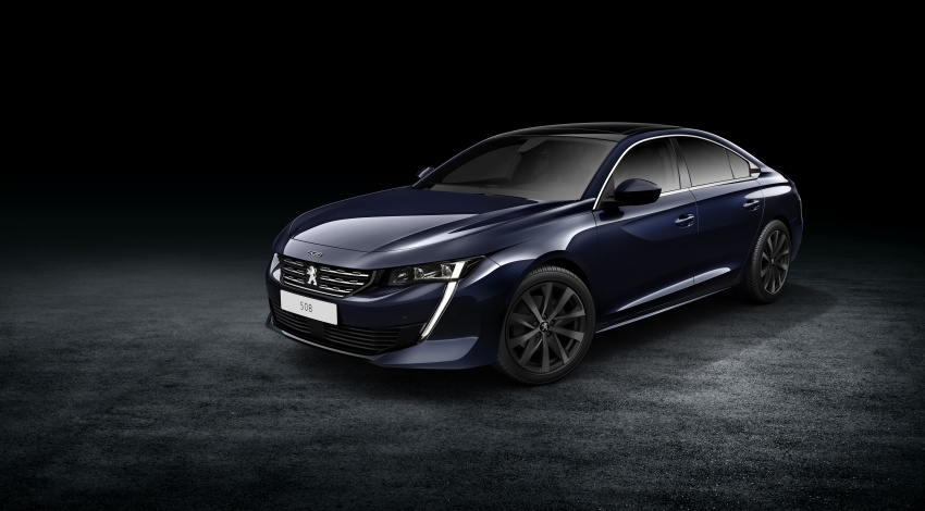 New Peugeot 508 officially revealed – now smaller and with a tailgate, targets Audi A5 Sportback Image #781698
