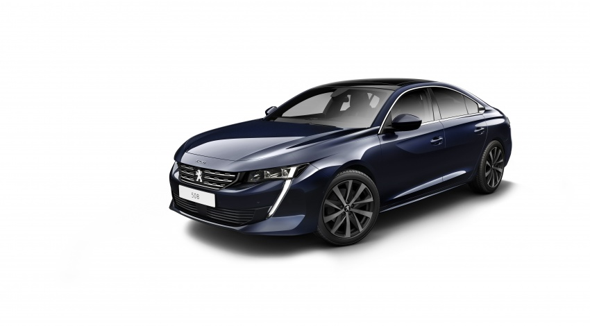 New Peugeot 508 officially revealed – now smaller and with a tailgate, targets Audi A5 Sportback Image #781748