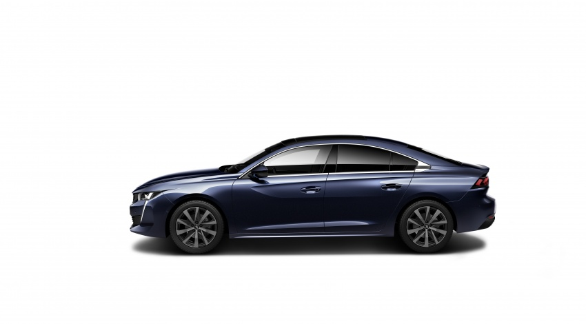 New Peugeot 508 officially revealed – now smaller and with a tailgate, targets Audi A5 Sportback Image #781665