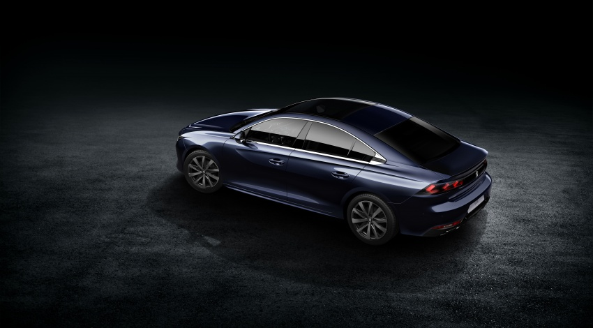 New Peugeot 508 officially revealed – now smaller and with a tailgate, targets Audi A5 Sportback Image #781730