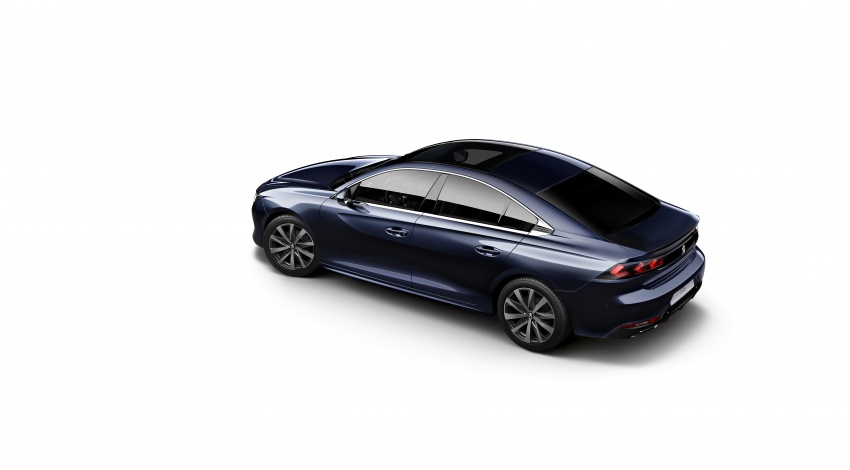New Peugeot 508 officially revealed – now smaller and with a tailgate, targets Audi A5 Sportback Image #781667