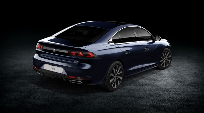 New Peugeot 508 officially revealed – now smaller and with a tailgate, targets Audi A5 Sportback Image #781671