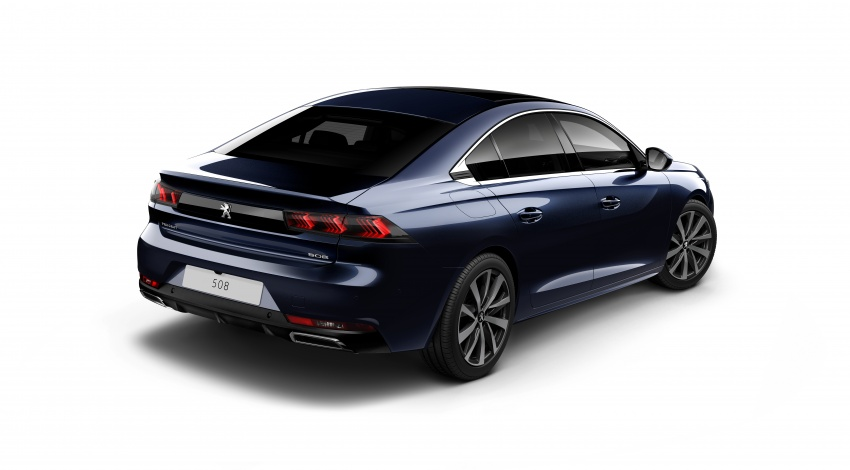 New Peugeot 508 officially revealed – now smaller and with a tailgate, targets Audi A5 Sportback Image #781669