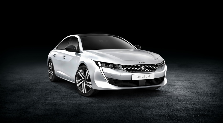 New Peugeot 508 officially revealed – now smaller and with a tailgate, targets Audi A5 Sportback Image #781674
