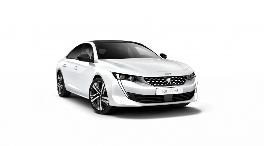 New Peugeot 508 officially revealed – now smaller and with a tailgate, targets Audi A5 Sportback Image #781733