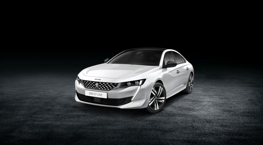 New Peugeot 508 officially revealed – now smaller and with a tailgate, targets Audi A5 Sportback Image #781736