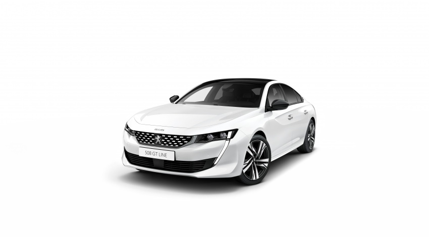 New Peugeot 508 officially revealed – now smaller and with a tailgate, targets Audi A5 Sportback Image #781675